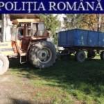 Polițiștii au confiscat peste 2,5 tone de grâu, transportat fără documente legale