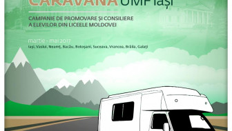 Caravana UMF Iași – Campanie de promovare și consiliere a elevilor din liceele Moldovei