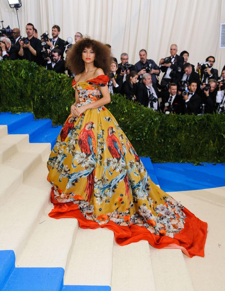 01 May 2017 - New York, New York - Zendaya Coleman. 2017 Metropolitan Museum of Art Costume Institute Benefit Gala at The Metropolitan Museum of Art. Photo Credit: Christopher Smith/AdMedia