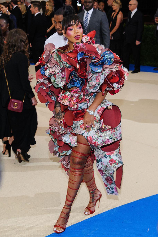 01 May 2017 - New York, New York - Rihanna. 2017 Metropolitan Museum of Art Costume Institute Benefit Gala at The Metropolitan Museum of Art. Photo Credit: Christopher Smith/AdMedia