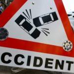 Accident rutier produs pe fondul neadaptării vitezei la condițiile de drum