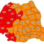 Cod ROȘU de caniculă în România