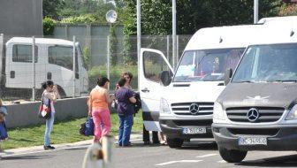 Sancţionat de poliţişti pentru transport de persoane fără licenţă