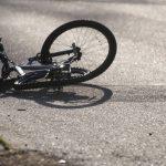 Biciclist implicat într-un eveniment rutier
