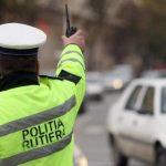 Tânăr prins în flagrant de poliţiştii Secţiei 1 în timp ce conducea un autoturism neînmatriculat, cu număr fals şi fără permis