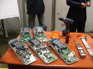 Bacauani arestati pentru falsificare de carduri