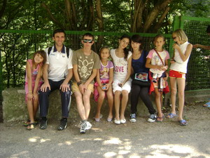 Tabara pentru copiii defavorizati din Onesti