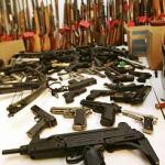 Tone de substanţe periculoase, arme si munitii  indisponibilizate