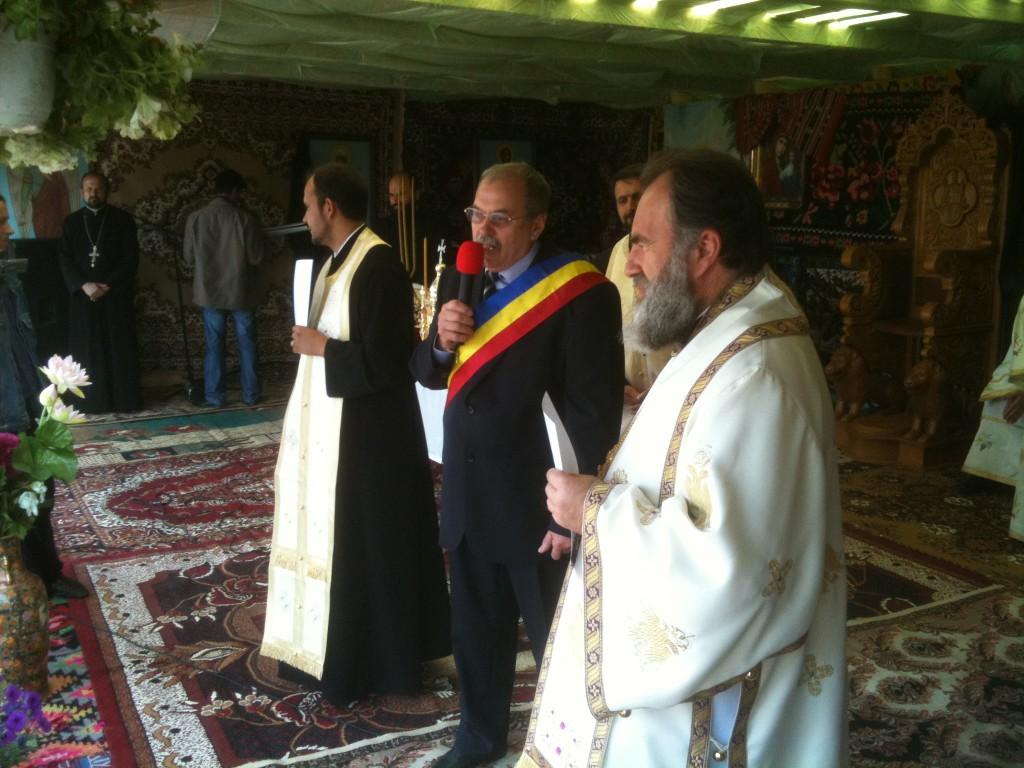 Biserica noua in satul lui Vasile Parvan
