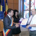 Sorin Avram a devenit cetatean de onoare al municipiului Bacau!