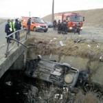 Accident mortal la Tamasi