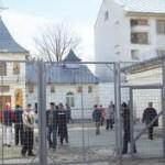 Slujba religioasa la Penitenciarul Bacau