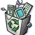 Actiune de colectare a deseurilor electronice in Bacau
