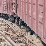 Tren marfar reţinut de inspectorii vamali pentru trafic de ţigări