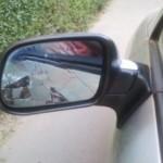 Bogdan Voda: Pieton acrosat cu oglinda retrovizoare