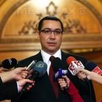 Ponta a prezentat lista noului guvern