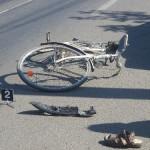 Onesti: A căzut de pe bicicletă și s-a accidentat