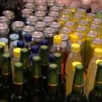 Peste sase tone de bere, reţinute de inspectorii vamali