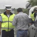 Acțiune a polițiștilor rutieri pentru prevenirea victimizării pietonilor prin accidente de circulație