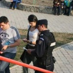 Jandarmii bacauani au aplicat sanctiuni la meciul de fotbal Ceahlaul -Rapid!