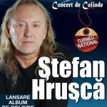 """Ştefan Hruşcă vesteşte Crăciunul cu un nou album de colinde,  """"La mijlocu' cerului""""  Bacău, Teatrul de Vară """"Radu Beligan"""""""