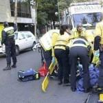 Sănduleni: O femeie beata pe sosea, a fost calcata de o masina