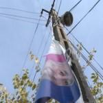 Huruiesti: Sancțiune contravențională aplicată de polițiști pentru distrugerea unor materiale electorale