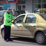 Taximetrist depistat la volan cu o concentrație de 1,36 mg/l alcool pur in aerul expirat