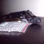 Deținea ilegal un pistol cu aer comprimat