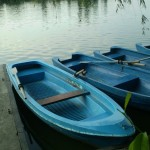 Prinsi de jandarmi in timp ce se plimbau cu barca furata!