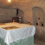 Loc de rugăciune în subteran, la Pogleţ