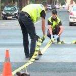 A condus o mașină fara permis,a lovit un pieton și a fugit de la locul accidentului