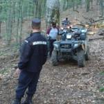 Jandarmii montani in actiune de salvare