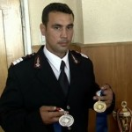 Pompierul Sorin Tasca, medalie de aur la lupte libere la Jocurile Mondiale ale politistilor si pompierilor