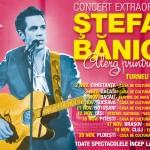 "Concert Stefan Banica in Bacau.Turneul national ""Alerg printre stele"""