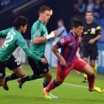 Steaua, învinsă cu 3-0 de Schalke 04, în prima etapă a Ligii Campionilor