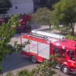 Copil blocat în casă, salvat de pompieri