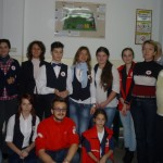 Demonstratie de prim ajutor la Colegiul N.V. Karpen
