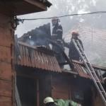 Incendiu în orașul Dărmănești