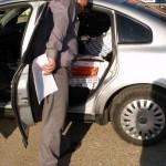 12.080 ţigarete şi o maşină confiscate de inspectorii vamali de la B.V. Siret