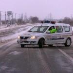 Peste 1.800 de amenzi aplicate în ultimele două zile. 88 de șoferi sancționați pentru lipsa cauciucurilor de iarnă