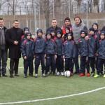 Gica Popescu, Ilie Dumitrescu si Stelea au urmarit antrenamentele copiilor de la SC Bacau!