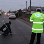 Traversarea neregulamentară, cauza unui accident de circulaţie în Ardeoani
