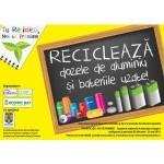 """Campanie de educatie ecologica """" Tu reciclezi, noi te premiem"""" organizata in cadrul scolilor"""