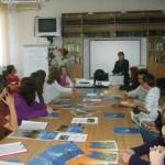 Schimb de bune practici intre bibliotecarii scolari si profesorii documentaristi