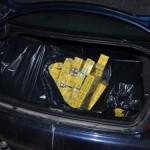 Depistat în timp ce transporta țigarete de contrabandă