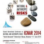 """Conferinţa Internaţională """"Riscuri naturale şi antropice"""", Ediţia a II-a"""