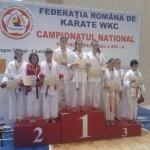 Sakura Onesti locul 3 pe tara la Campionatul National de Karate pentru Copii