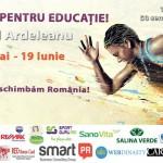 Alergăm pentru educație. Paul Ardeleanu ajunge in orasul tau! Hai sa alergam impreuna !