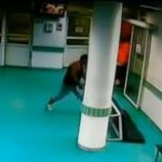 Camera de gardă a Spitalului Judeţean Bacău, devastată de un pacient violent
